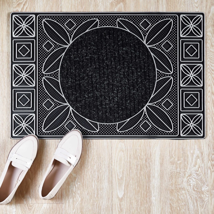 Topkapi Rectangular Textured Doormat