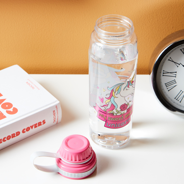 Kendal Printed Water Bottle with Strap - 800 ml