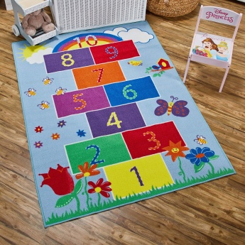 Addison Printed Hopscotch Rug - 120x160 cms