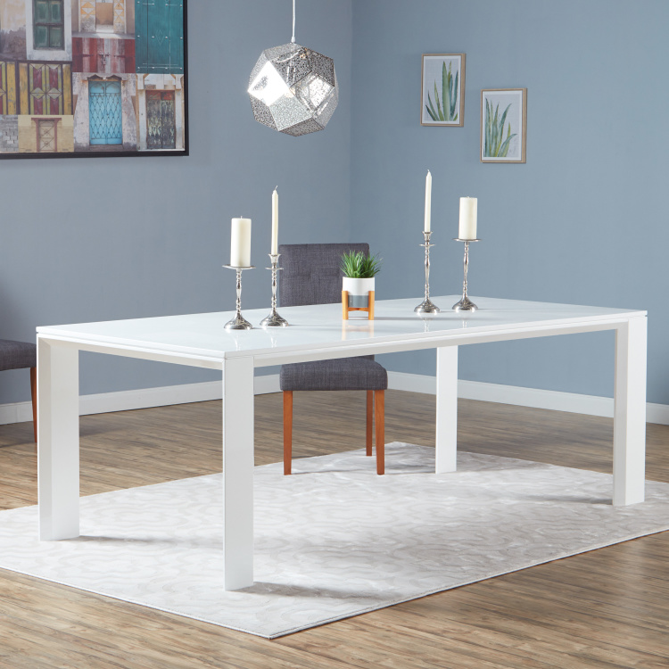 Eterno 8-Seater Wooden Top Dining Table