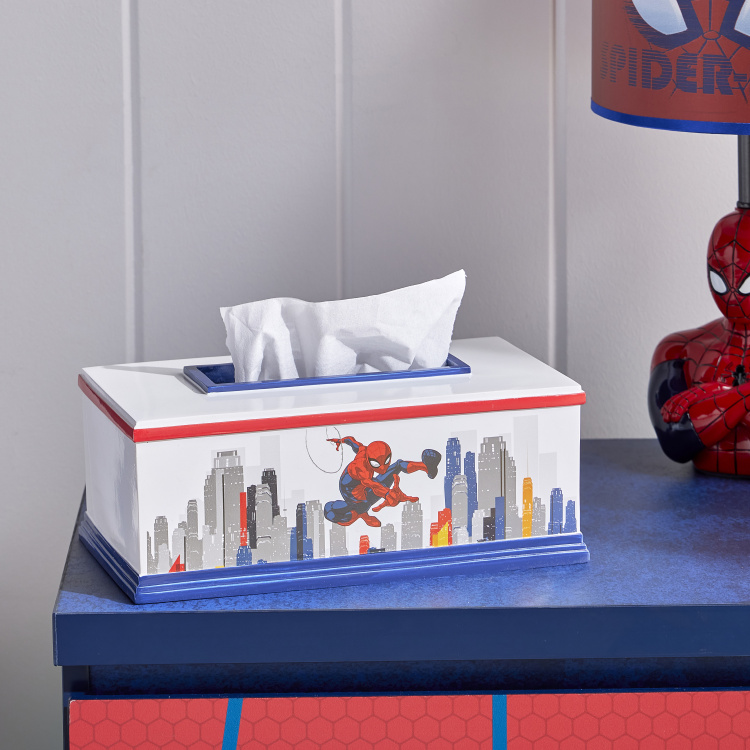 Spider-Man Printed Tissue Cover