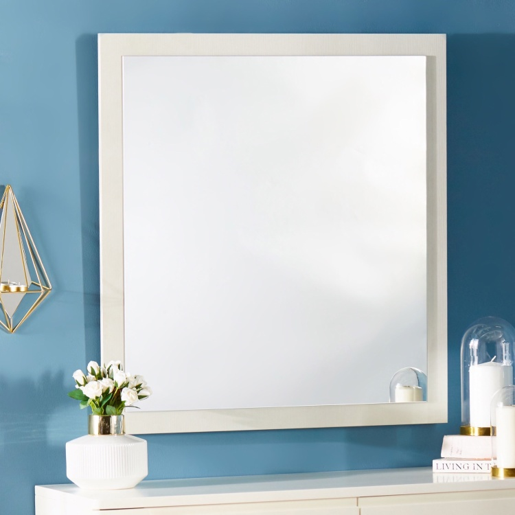 Leon Rectangular Wall Mirror - 89x82x2 cm
