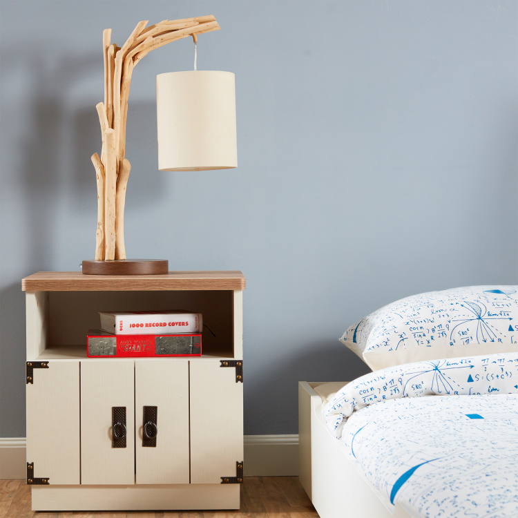 Leon Nightstand with 2-Doors