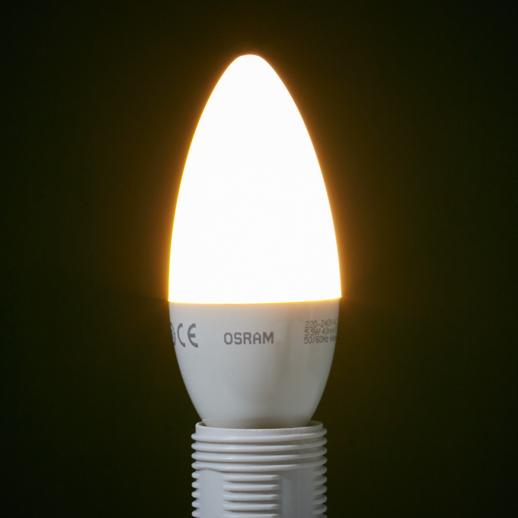 Osram LED Candle Bulb - E14 470 lumen Warm White