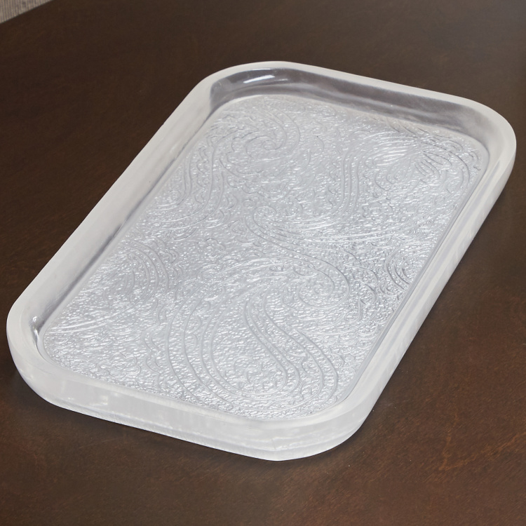 Crucian Textured Towel Tray