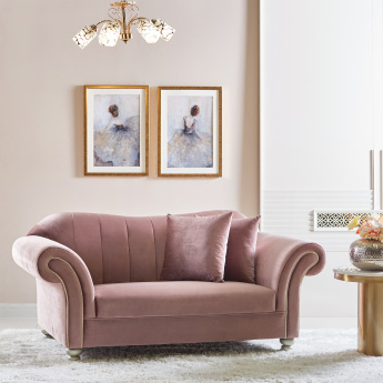 Helen 2-Seater Tufted Sofa with Scatter Cushions
