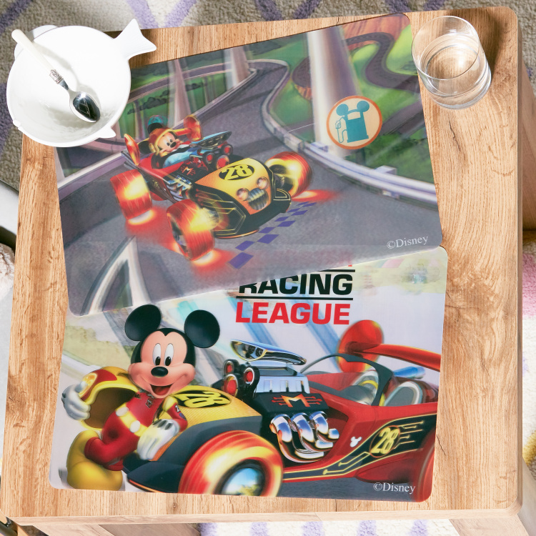 Mickey 3D Table Mat - Set of 2