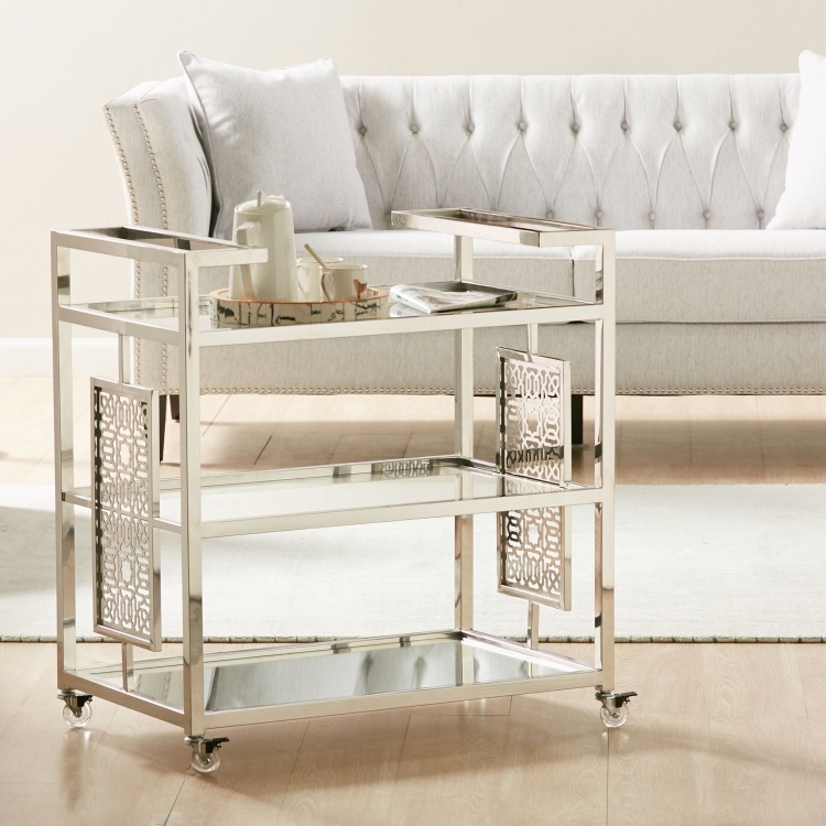 Vista 3-Tier Serving Trolley