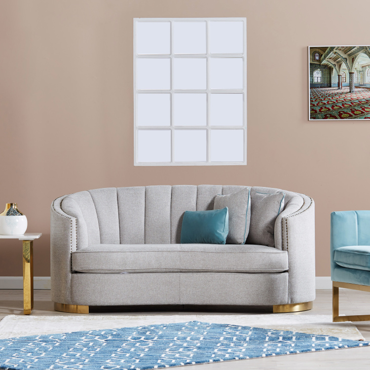 Smith 2-Seater Fabric Sofa