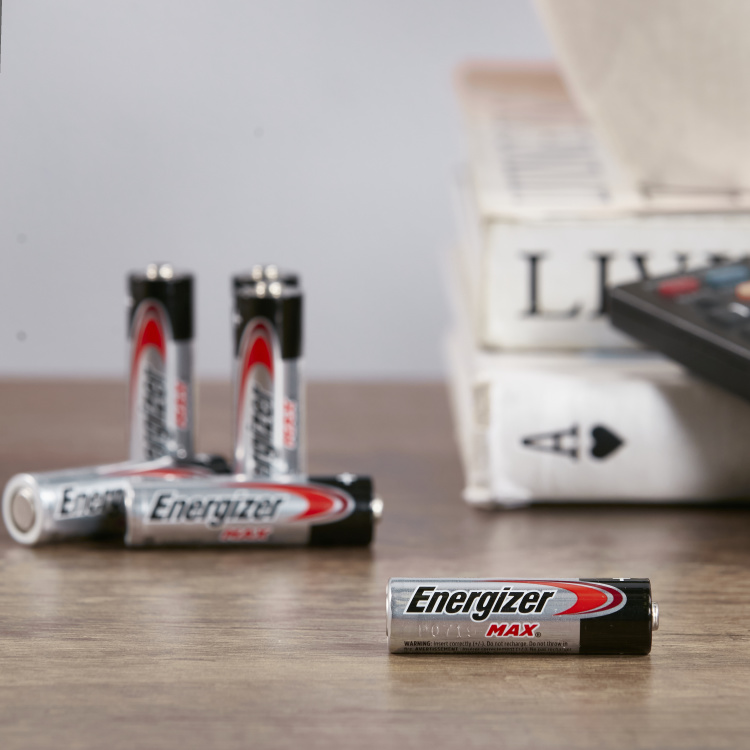 Energizer Max Alkaline AA Battery - Set of 6