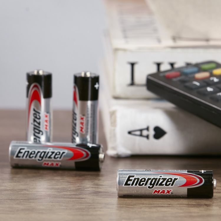 Energizer Alkaline AA Batteries - Pack of 4