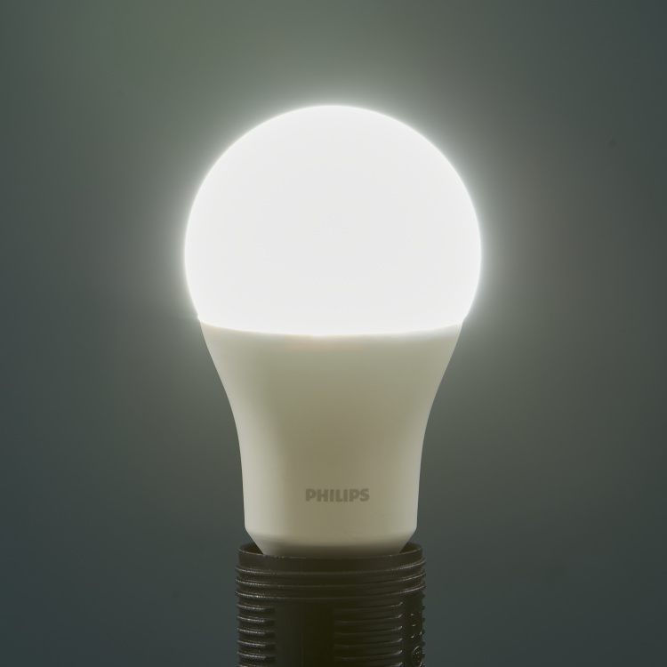 Philips Essentials LED A60 Bulb - Pack of 2 - E27 1450 lumen Coolday Light